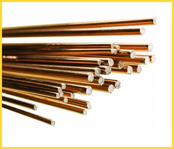 Прутки для низколегированных сталей