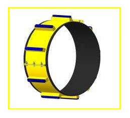 Опорно-направляющие кольца